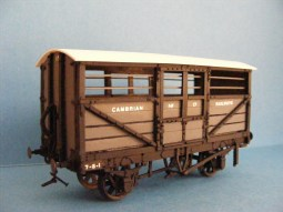 Cambrian cattle wagon from Model Wagon Co. kit