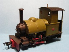 Bagnall 0-4-0ST - Wrightlines Kit on RTR chassis