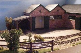 GN15 compact diorama