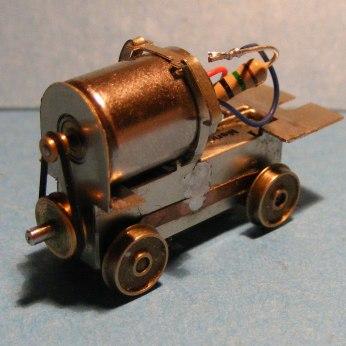 009 motor bogie